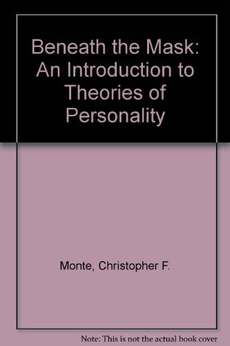9780030337086: Beneath the Mask: An Introduction to Theories of Personality