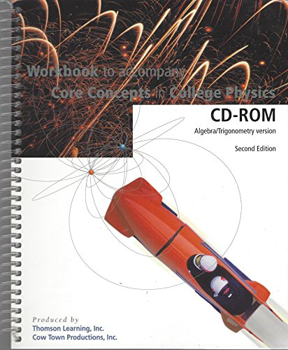 9780030337161: Workbook for Saunders' Core Concepts in College Physics, Version 2.0 CD-ROM