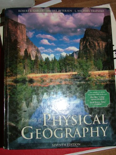 9780030338229: Essentials of Physical Geography (with CD-ROM and InfoTrac)