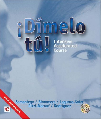 9780030338342: Dimelo tu!: Intensive Accelerated Course (with Audio CD)