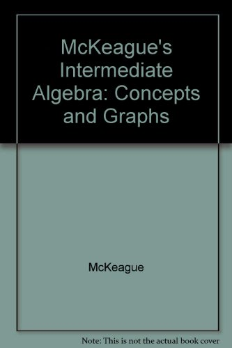 9780030339127: Video Series for McKeague's Intermediate Algebra: Concepts and Graphs