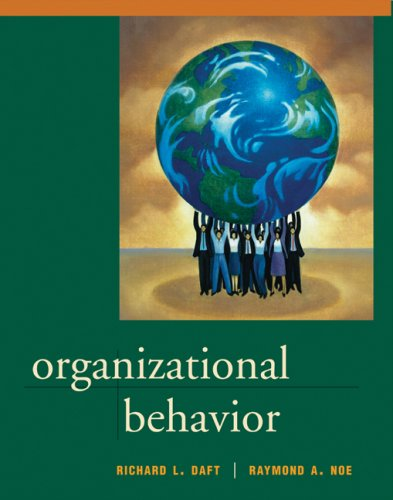 Organizational Behavior: Daft, Richard L.