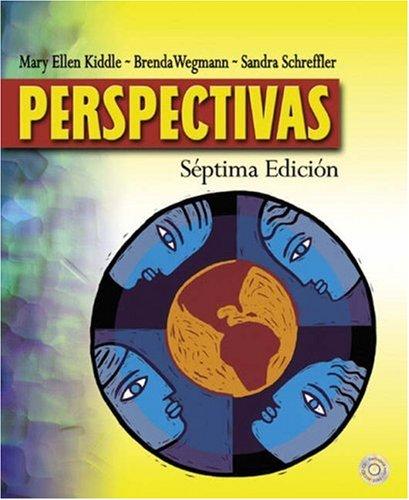 9780030339585: Perspectivas (with Audio CD)