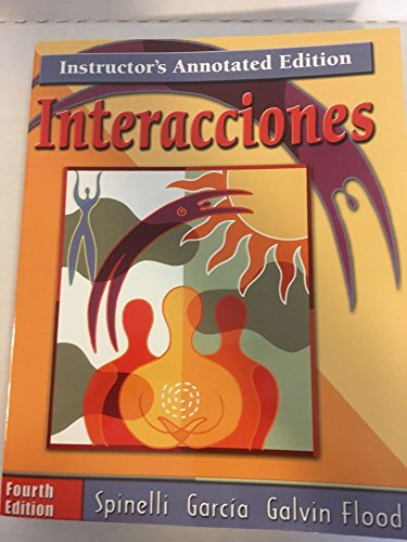 9780030339639: Interacciones (4th Edition, 2002 with CD)