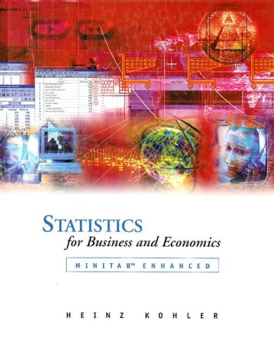 9780030339738: Statistics for Business and Economics with MINITAB CD-ROM