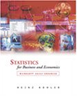 9780030339813: Statistics for Business and Economics with Excel CD-ROM