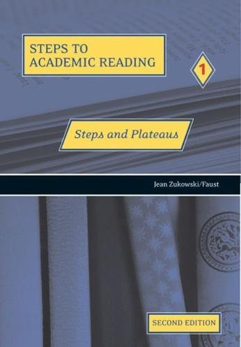 9780030339875: Steps to Academic Reading 1: Steps and Plateaus