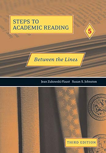 Steps to Academic Reading 5 : Between: Susan S. Johnston;