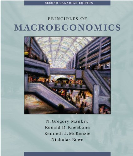 9780030340598: Principles of Macroeconomics (Canadian Edition)