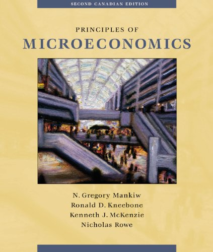 9780030340673: Principles of Microeconomics (Canadian Edition)