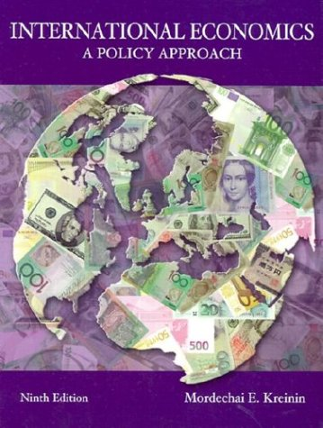 9780030341564: International Economics: A Policy Approach