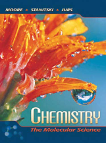 9780030342363: Chemistry: The Molecular Science (with General Chemistry CD-ROM)