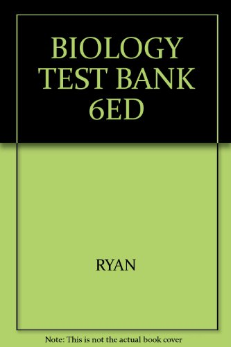 9780030342516: BIOLOGY TEST BANK 6ED