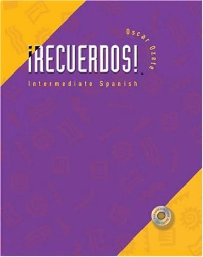 9780030342622: Recuerdos! Intermediate Spanish, Web Enhanced, Updated Edition