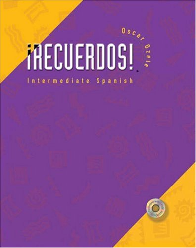 9780030342776: Recuerdos!: Intermediate Spanish (with Audio CD)
