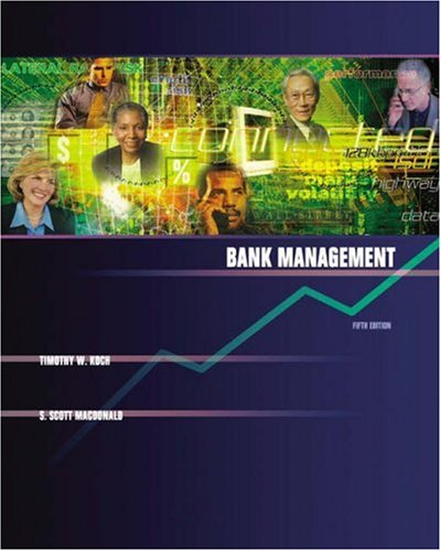 9780030342974: Bank Management