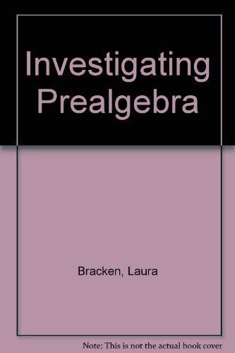 9780030344336: Investigating prealgebra