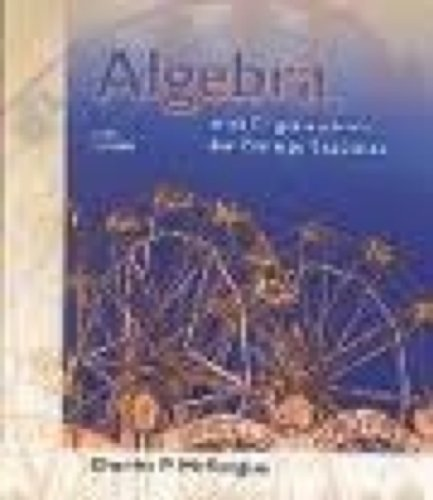 9780030344466: Algebra With Trigonometry for College Students