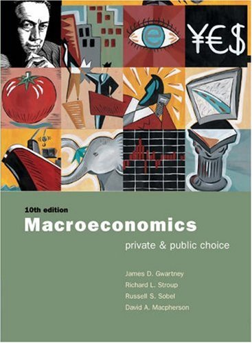 9780030344749: Macroeconomics: Private and Public Choice with Xtra! CD-ROM and InfoTrac College Edition