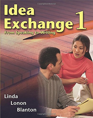 9780030344817: Idea Exchange 1: From Speaking to Writing