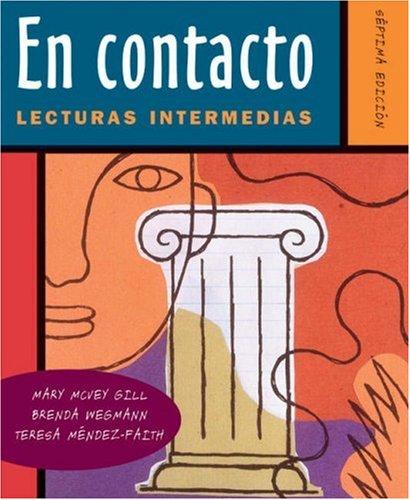9780030345036: En contacto: Lecturas intermedias