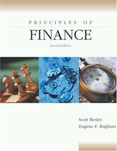 9780030345098: Principles of Finance
