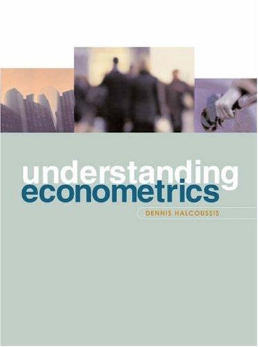 9780030348068: Understanding Econometrics with Economic Applications