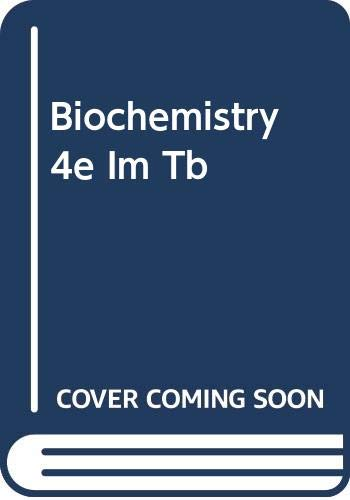 9780030348723: BIOCHEMISTRY 4E IM/TB