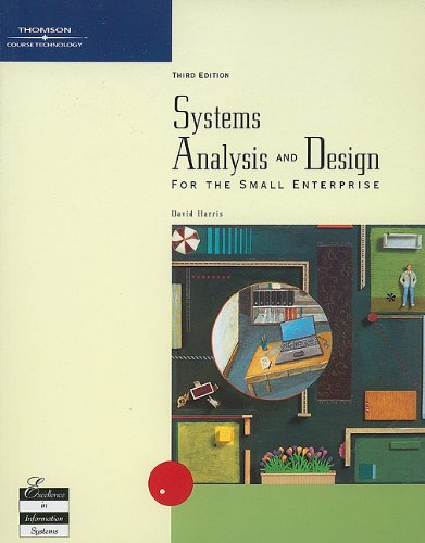 9780030349034: Systems Analysis and Design for the Small Enterprise