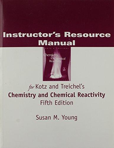 IM CHEM & CHEM REACTIVITY 5E (0030349540) by KOTZ