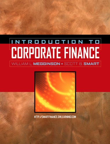 9780030350047: Introduction to Corporate Finance (with Thomson ONE - 6 months and Access Card)