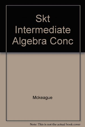 9780030351464: Intermediate Algebra: Concepts and Graphs