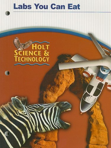Holt Science & Technology Labs You Can: Holt Rinehart &