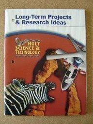 9780030351914: Long-Term Projects/Rsrch Ideas HS&T 2005