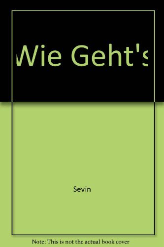 9780030352614: Workbook/Lab Manual Arbeitsbuch for Wie Geht's: An Introductory German Course, Seventh Edition