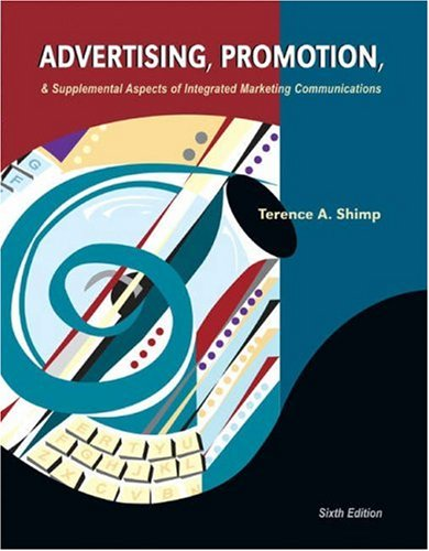 9780030352713: Advertising, Promotion and Supplemental Aspects of Integrated Marketing Communications