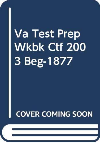 9780030352973: Va Test Prep Wkbk Ctf 2003 Beg-1877
