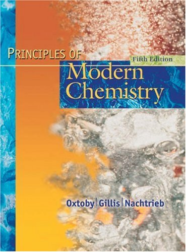 9780030353734: Principles of Modern Chemistry