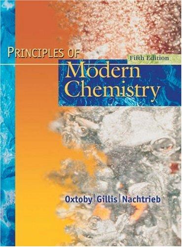 9780030353734: Principles of Modern Chemistry