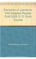 9780030354618: Elements of Literature: Adapted Reader Sixth Course