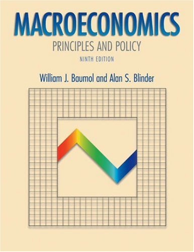 9780030355097: Macroeconomics: Principles and Policy