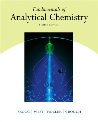 Fundamentals of Analytical Chemistry: Donald M. West;
