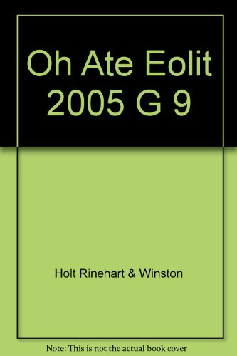9780030356087: Oh Ate Eolit 2005 G 9