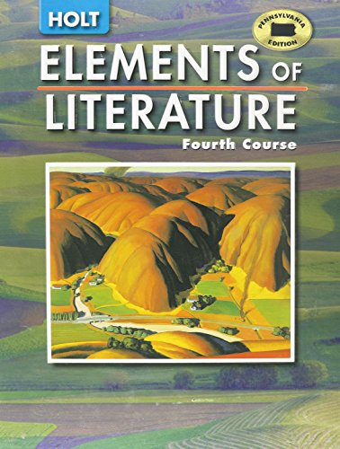 9780030356322: Elements of Literature, Fourth Course