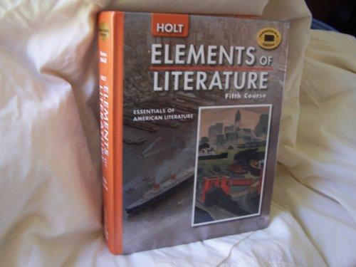 9780030356339: Holt Elements of Literature Pennsylvania: Student Edition Grade 11 2005
