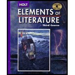 9780030356513: Elements of Literature: Third Course  (Illinois Edition) 2005