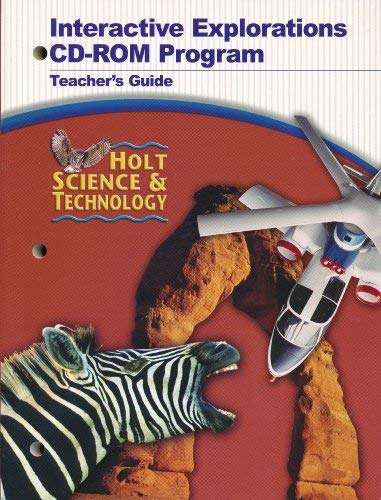 9780030356919: Interactive Explorations CD-ROM Program Teacher's Guide
