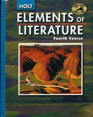9780030357060: Virginia Edition Elements of Literature Fourth Course