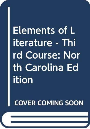 9780030357176: Holt Elements of Literature North Carolina: Student Edition Grade 9 2005