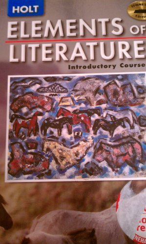 9780030357312: Tennessee Student Edition Holt Elements of Literature Introductory Course 2005 G 6